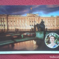 Postales: POSTAL POSTCARD UK UNITED KINGDOM REINO UNIDO LONDRES BUCKINGHAM PALACE REINA ISABEL II QUEEN LONDON. Lote 195112366