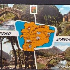 Postales: POSTAL ANDORRA VARIAS VISTAS . Lote 195112682