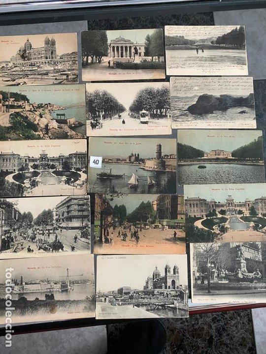 Postales: lote de 23 postales de marsella , marseille de 1906 - Foto 3 - 195144386