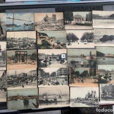 Postales: LOTE DE 23 POSTALES DE MARSELLA , MARSEILLE DE 1906 . Lote 195144386