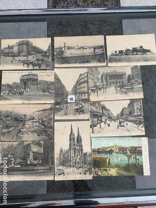 Postales: lote de 19 postales de marsella , marseille de 1906 - Foto 3 - 195144523