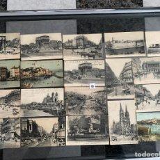 Postales: LOTE DE 19 POSTALES DE MARSELLA , MARSEILLE DE 1906 . Lote 195144523
