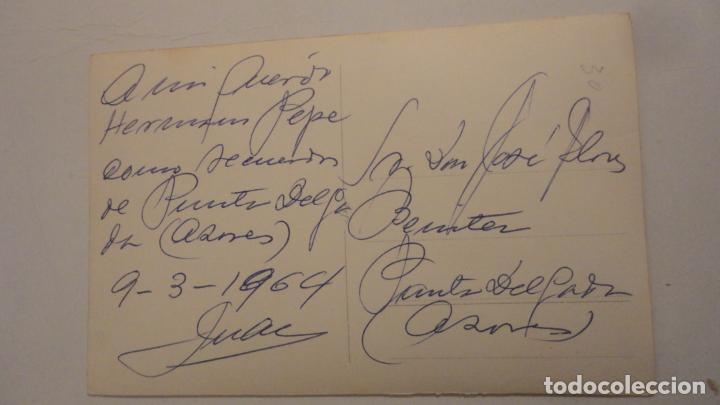 Postales: ANTIGUA POSTAL FOTOGRAFICA.PONTA DELGADA -AÇORES.ASPECTO DA CIDADE.FOTO NOBREGA PORTUGAL 1964 - Foto 2 - 195149942