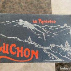 Postales: BLOC DE POSTALES DE LES PYRÉNÉES , LUCHON . COLLECTION B.R. . Lote 195168886