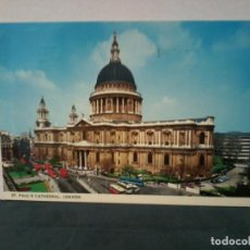 Postales: TARGETA POSTAL. ST. PAUL'S CATHEDRAL, LONDON. COLOURMASTER INTERNATIONAL. PT9921.. Lote 195225987