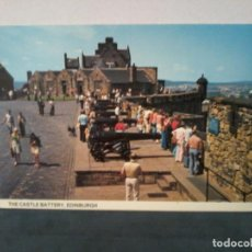 Postales: TARGETA POSTAL. THE CASTLE BATTERY, EDINBURGH. DISTRIBUTED BY WHITEHOLME OF DUNDEE. EDI979.. Lote 195226288