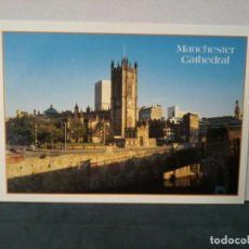 Postales: TARGETA POSTAL. MANCHESTER. CATHEDRAL. POSTCARD. C14783. Lote 195227371