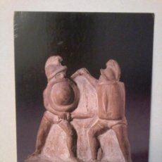 Postales: TARJETA POSTAL. THE BRITISH MUSEUM. GLADIATORS FIGHTING. TERRACOTA FIGURES OF A HOPLOMACHUS. Lote 195230152