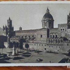 Postales: TARJETA POSTAL CATEDRAL DE PALERMO (PROPAGANDA BICARBONATO DE SODA ERBA).. Lote 195300758
