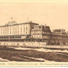 Postales: POSTAL, LE HAVRE, HOTEL FRASCATI, SIN CIRCULAR. Lote 195306191