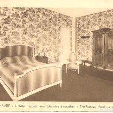 Postales: POSTAL, LE HAVRE, HOTEL FRASCATI, SIN CIRCULAR. Lote 195306250