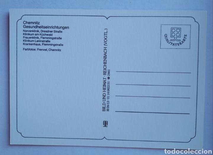 Postales: Postal Alemania Chemnitz - Foto 2 - 195340126