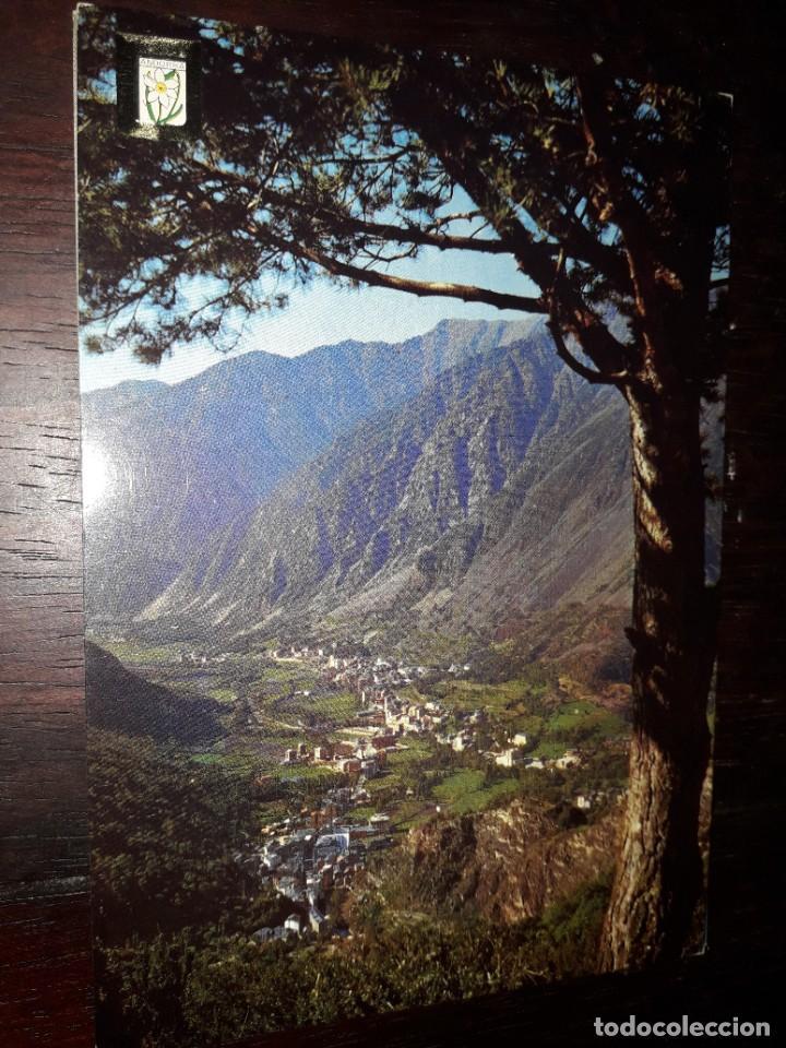Nº 36399 POSTAL VALLE DE ANDORRA LES ESCALDES (Postales - Postales Extranjero - Europa)