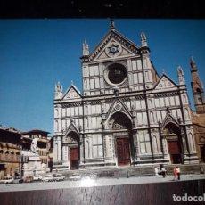 Postales: Nº 36400 POSTAL ITALIA FIRENZE BASILICA DI SANTA CRUCE. Lote 195340193