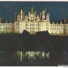 Postales: == B1489 - POSTAL - COULEURS ET LUMIERE DE FRANCE - VAL DE LOIRE - LE CHATEAU DE CHAMBORD. Lote 195353967