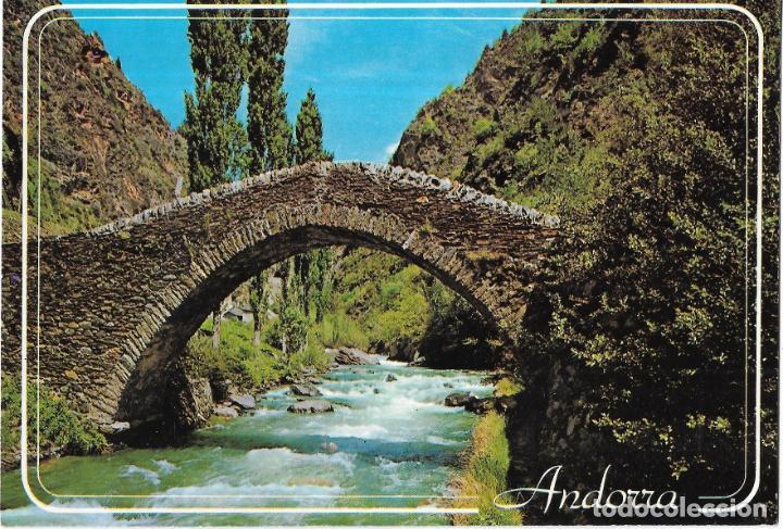 == B1490 - POSTAL - VALLS D´ANDORRA - LA MASSANA - PUENTE ROMANICO DE SAN ANTONIO (Postales - Postales Extranjero - Europa)