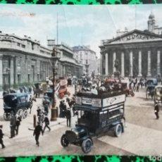 Postales: BANK OF ENGLAND, LONDON - ANTIGUA POSTAL COLOREADA - CIRCULADA - PJRB. Lote 195359266