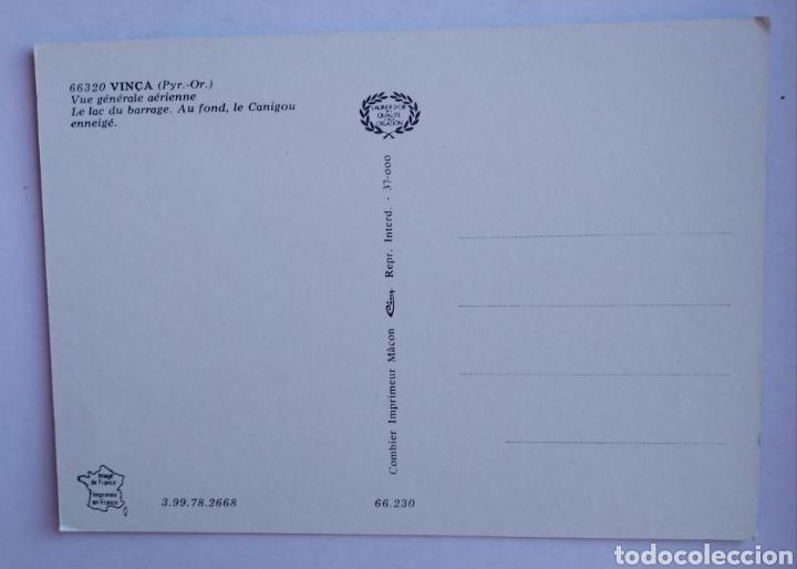 Postales: Postal Francia vinca vista general aerea el lago - Foto 2 - 195367391