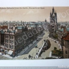 Postales: POST CARD. ST. NICHOLAS CATHEDRAL FROM THE CASTLE. NEWCASTLE ON TYNE. Lote 195380592