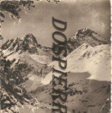 Postales: POSTAL, ENVIRONS DE CAUTERETS, LE REFUGE DU MARCADAU, CIRCULADA. Lote 195381055