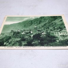 Postales: POSTAL ANTIGUA ANDORRA. LA CAPITAL ANDORRA LA VELLA. . Lote 195422180
