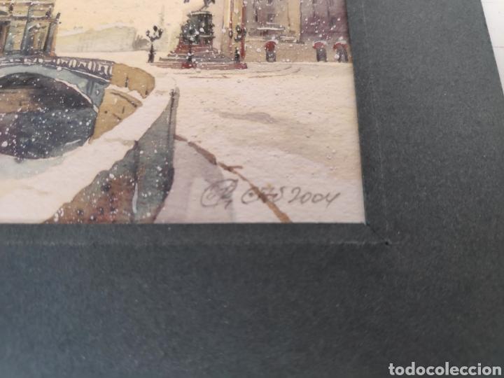 Postales: Postal pintada a mano de San petersburgo, Rusia - Foto 2 - 195468905