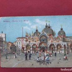 Postales: VENEZIA- ALL'INIZIO DEL SECOLO-CIRCULADA CON SELLO. Lote 195479750