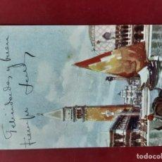 Postales: VENEZIA- ALL'INIZIO DEL SECOLO-CIRCULADA CON SELLO. Lote 195479786