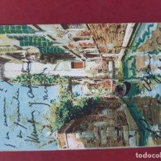 Postales: VENEZIA- ALL'INIZIO DEL SECOLO-CIRCULADA CON SELLO. Lote 195479845