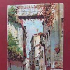Postales: VENEZIA- ALL'INIZIO DEL SECOLO-CIRCULADA SIN SELLO. Lote 195480126