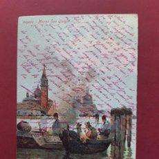 Postales: VENEZIA- ALL'INIZIO DEL SECOLO-CIRCULADA SIN SELLO. Lote 195480347