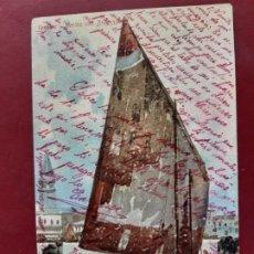 Postales: VENEZIA- ALL'INIZIO DEL SECOLO-CIRCULADA SIN SELLO. Lote 195480361