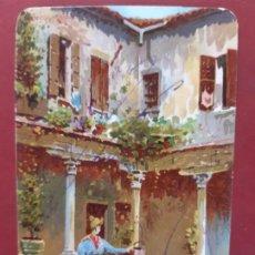 Postales: VENEZIA- ALL'INIZIO DEL SECOLO-CIRCULADA SIN SELLO. Lote 195480380