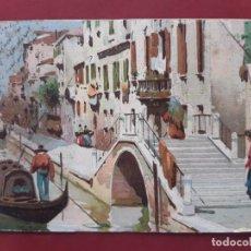 Postales: VENEZIA- ALL'INIZIO DEL SECOLO-CIRCULADA SIN SELLO. Lote 195480410