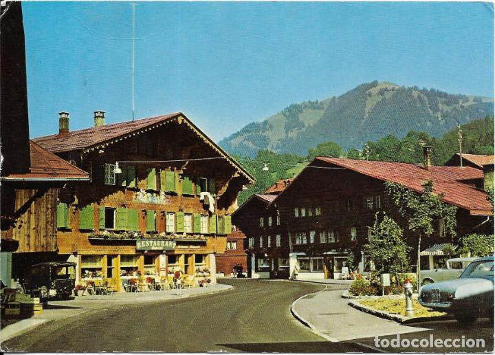 == B1573 - POSTAL - SAANEN - DORFPARTIE (Postales - Postales Extranjero - Europa)