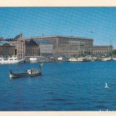 Postales: POSTAL PALACIO REAL. ESTOCOLMO (SUECIA). Lote 195514451