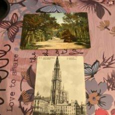 Postales: LOTE 2 POSTALES 1912 Y 1917 USADAS. Lote 195514898
