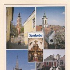 Postales: POSTAL SZENTENDRE (HUNGRIA). Lote 195514963