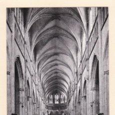 Postales: POSTAL NAVE CENTRAL. CATEDRAL DE SAN MAURICIO. VIENNE (FRANCIA). Lote 195517297