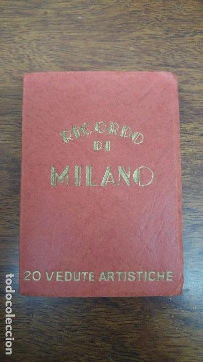 RICORDO DI ITALIA 20 VEDUTE ARTISTICHE ED.SAF (Postales - Postales Extranjero - Europa)