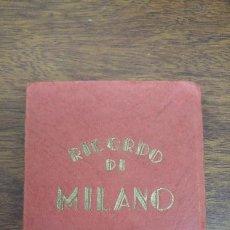 Postales: RICORDO DI ITALIA 20 VEDUTE ARTISTICHE ED.SAF. Lote 195522405