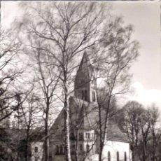 Cartes Postales: BAD AIBLING (BAVIERA/ALEMANIA). IGLESIA EVANGELISTA. NUEVA. BLANCO/NEGRO. Lote 195531935
