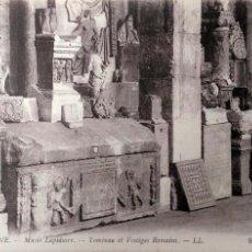 Postales: VIENNE (FRANCIA). 69 MUSEO LAPIDAIRE. TUMBA Y VESTIGIOS ROMANOS. NUEVA. BLANCO/NEGRO. Lote 195532093