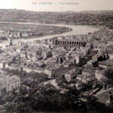 Postales: VIENNE (FRANCIA). 713 VISTA GENERAL. NUEVA. BLANCO/NEGRO. Lote 195532110