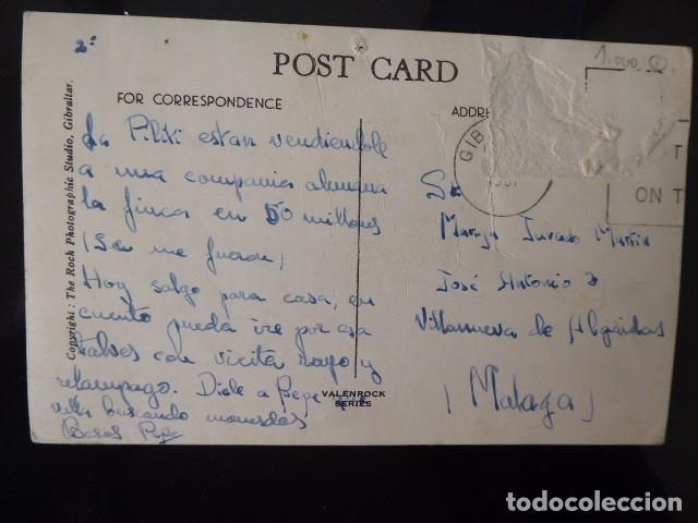 Postales: postal de gibraltar bonita muy animada. - Foto 2 - 195621483