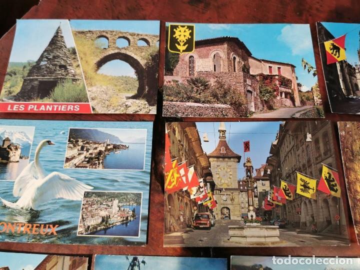 Postales: 11 POSTALES PAISES DE EUROPA, FRANCIA, SUISSE, LONDRES, ALEMANIA. - Foto 2 - 196513616