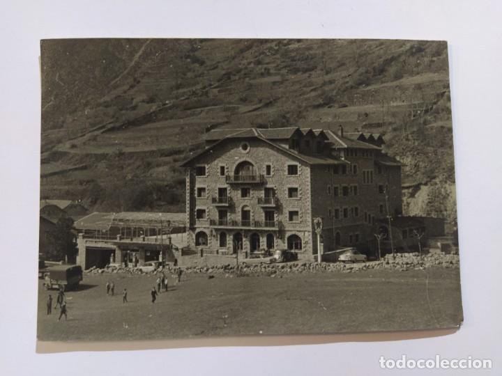 ANDORRA-ENCAMP-HOTEL ROSALEDA-FOTOGRAFIA ANTIGUA-VER FOTOS-(68.690) (Postales - Postales Extranjero - Europa)