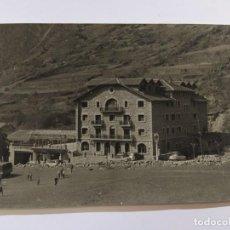 Postales: ANDORRA-ENCAMP-HOTEL ROSALEDA-FOTOGRAFIA ANTIGUA-VER FOTOS-(68.690). Lote 196805945