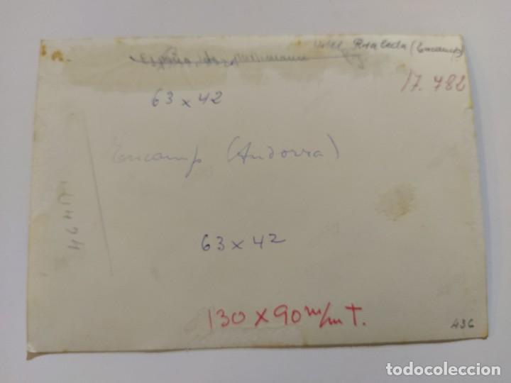 Postales: ANDORRA-ENCAMP-HOTEL ROSALEDA-FOTOGRAFIA ANTIGUA-VER FOTOS-(68.690) - Foto 3 - 196805945