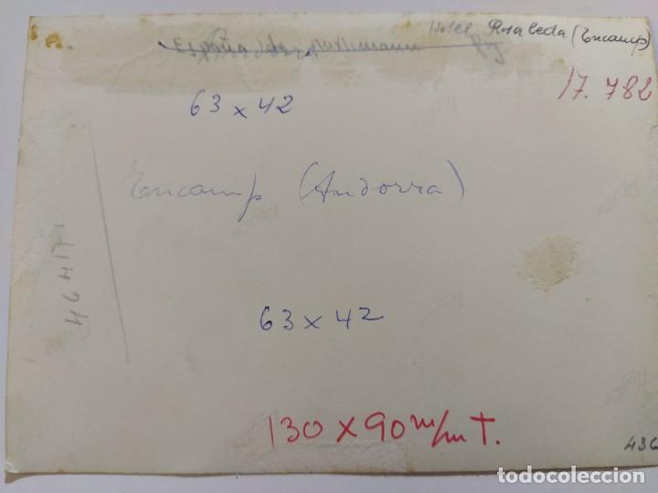 Postales: ANDORRA-ENCAMP-HOTEL ROSALEDA-FOTOGRAFIA ANTIGUA-VER FOTOS-(68.690) - Foto 4 - 196805945